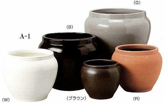 陶器 鉢カバー アレックA-1 8号鉢用 KB068001