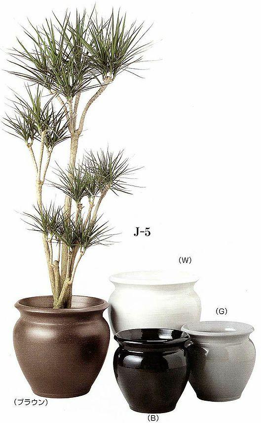 観葉植物用資材 通販 陶器 鉢カバー ジュネスJ-5 8号鉢用 KB080001