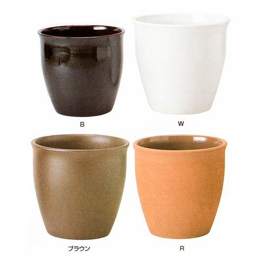 観葉植物用資材 通販 陶器 鉢カバー ジュネスJ-6 8号鉢用 KB066001