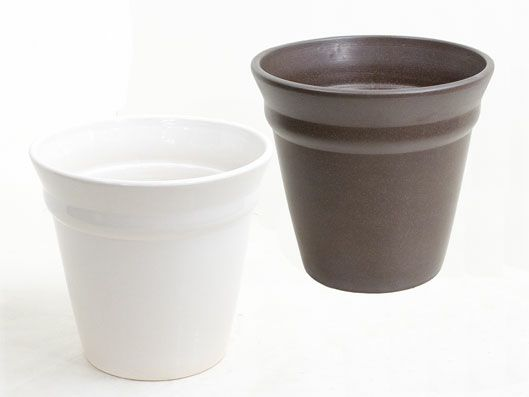 観葉植物用資材 通販 陶器 鉢カバー アレックA-5 10号鉢用 KB130001