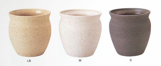 観葉植物用資材 通販 陶器 鉢カバー つぼ型 パーフェクトポットPF-5 10号鉢用 KB180001